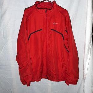 Nike FitDry Zip Up Windbreaker Jacket w/ Pockets